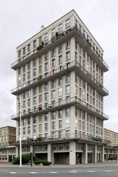 Auguste Perret - Tower, Le Havre