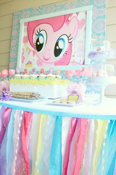 my little pony party ideas | My Little Pony Inspired Party Collection | Party On! For Olivia's birthday maybe?