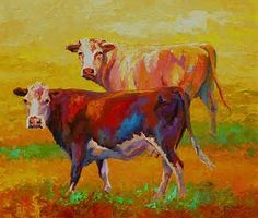 Image result for cow Paintings