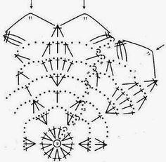 Crochet Snowflake Pattern, Crochet Stars, Crochet Motifs, Crochet Snowflakes, Afghan Crochet Patterns, Crochet Doilies, Christmas Balls, Christmas Crafts, Crochet Ball