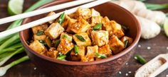 5 najlepszych marynat do tofu Tofu, Healthy Vegetable Recipes, Plant Based Eating, Roasted Vegetables, Eating Plans, Kung Pao Chicken, Stir Fry, Spicy, Curry