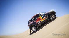 2015 Dakar Best Shot Nasser Al-Attiyah MINI ALL4 Racing Photo: Red Bull contentpool #MINI