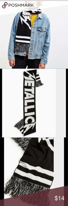 Metallica scarf from urban outfitters To follow Urban Outfitters Accessories Scarves