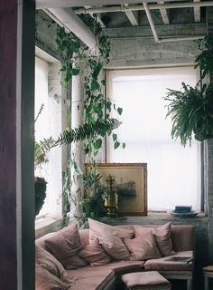 Pink and green interiors inspiration and other cool stuff