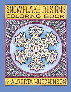 Snowflake Designs Coloring Book: 24 Designs in Elaborate Frames (Sacred Design Series) by Alberta L Hutchinson http://www.amazon.com/dp/1492747823/ref=cm_sw_r_pi_dp_P5Mcub0Q69NQF