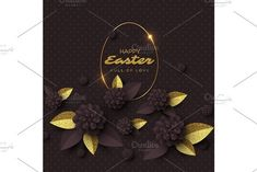 Happy Easter greeting card.. Decoration #easter
