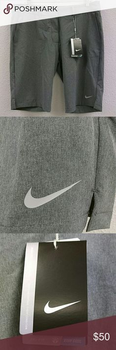 Nike Golf Tour Performance Dry Fit Women's size 10 Nike Golf Tour Performance Dry Fit Women's size 10 new with tags golf shorts. Grey color with two pockets in front and two pockets in back. Nike Shorts
