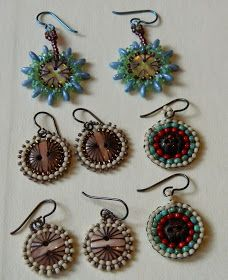 One Kiss Creations Beaded Jewelry: Brick and Buttons