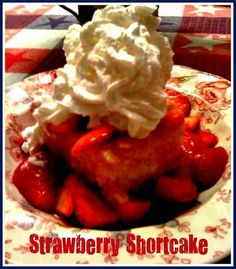 Shortcake/kentucky butter cake
