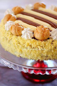 Torta Saint Honoré.