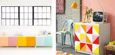 Propuestas color block para decorar tu hogar - http://www.decoora.com/propuestas-color-block-para-decorar-tu-hogar.html