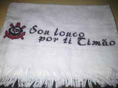 toalha de boca do Corinthians