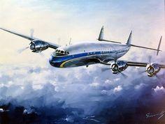 Lockheed Super Constellation (Lufthansa) par Lucio Perinotto | Flickr - Photo Sharing!