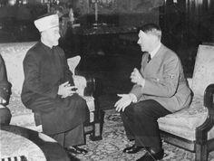 Amin al Husseini e Adolf Hitler.