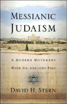 Messianic Judaism - A Modern Movement with an Ancient Past - David H. Stern http://www.amazon.com/Messianic-Judaism-Modern-Movement-Ancient/dp/1880226332/ref=sr_1_1?s=books&ie=UTF8&qid=1399648272&sr=1-1&keywords=messianic+judaism+david+stern