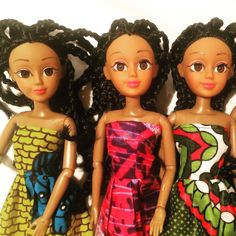 African Barbie Dolls on sale