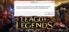 Como arreglar el RADS Error HTTP del LoL [Todos los métodos] -  League of Legends se ha convertido en poco tiempo uno de los títulos más conocidos de todos los tiempos. Tanto como algunas de las leyendas para consola pero con un handycap. Precisamente por eso te voy a enseñar cómo solucionar el error RADS de HTTP en lol de varias formas. En consolas al ser sistemas []  La entrada Como arreglar el RADS Error HTTP del LoL [Todos los métodos] aparece primero en VicHaunter.org.
