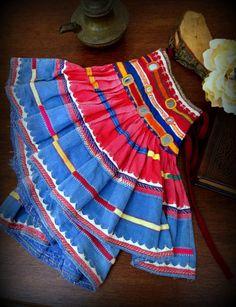 Banjara Mini Skirt Banjara Belt Tribal Belly Dance by DancingTribe, $49.00