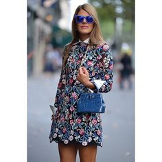 The inimitable Anna Dello Russo, snapped by @Melanie Bauer Galea for THE OUTNET #PFW #RunwayReady