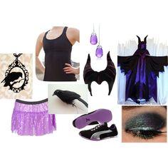 Malificent Running Costume | runDisney | Running | Race Costume | Disney | Sparkle Athletic | #TeamSparkle | Halloween | Athletic Costume