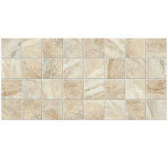 American Olean�12-Pack Danya Cove Ceramic Mosaic Square Floor Tile (Common: 12-in x 24-in; Actual: 11.68-in x 23.62-in)