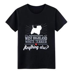 West Highland T Shirt white Terrier T Shirt  – Boheki