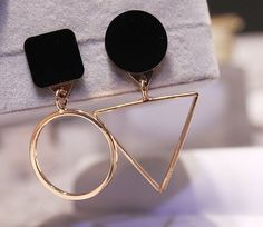 Cafiona Arrival Western Style Earrings Fashion Jewelry Geometric Shape Alloy