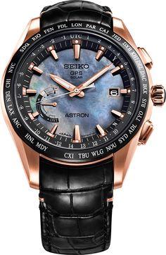 Astron GPS Solar World-Time Novak Djokovic Limited Edition