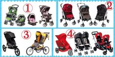 4 of 5 Major Types of Strollers 1 - Travel System 2 - Standard Strollers 3 - Jogging Strollers 4 - Double Strollers Best Double Stroller, Double Strollers, Best Umbrella, Umbrella Stroller, Jogging Stroller, Travel System, Summer Baby, Mom And Dad, Good Things