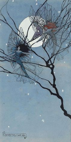 "Elizabeth Mary Watts (1886-1954), ""Moon Fairies"""