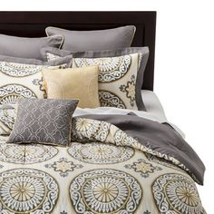 Venice 8 Piece Comforter Set, just ordered this set. Will use this as inspiration for the rest of bedroom