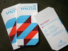 Space 150's v22 Colorful Business Card