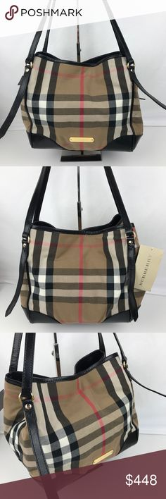 743a737b62 Burberry Bridle House Check Canterbury Tote Authentic Burberry Style  3831797. New with Tag
