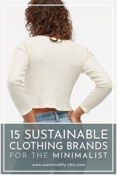 Like keeping your closet small? These sustainable clothing brands are exactly what you've been missing from your minimalist wardrobe! Their timeless, versatile, minimalistic design will surely keep your closet to a minimum while feeling as if you have a lot to work with. I always find less is more, & investing in quality pieces is so important for a conscious closet. #sustainablefashion #ethicalfashion #slowfashion #ecofashion #minimalistfashion #minimalism #minimalistlifestyle…