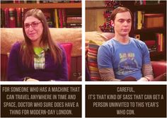 Sheldon Cooper, oh my god.