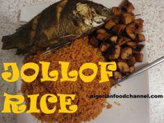 How to Cook Nigerian Jollof Rice | Nigerian Food Recipes