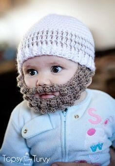 Hipster Baby knit cap! Lol!!!