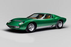 Miura SV, restaurado por PoloStorico en su 50 aniversario - Cars Modification Wallpaper