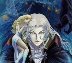Castlevania - Alucard by Saiyakupo on DeviantArt Alucard Castlevania, Castlevania Netflix, Vampire Love Story, Sleep Forever, Dark Fantasy Art, Nocturne, Funny Stories, Dracula, Anime Guys