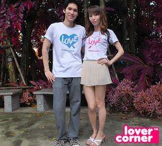 #เสื้อคู่ Jigsaw of Love  ราคาคู่ละ 250 บาท พร้อมส่งจ้า WWW.LOVERCORNER.COM