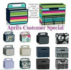 Medium Utility Tote Thirty One June Customer Special