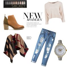 A fashion look from December 2015 featuring Burberry, Chicnova Fashion jeans and Miista boots. Browse and shop related looks. Fashion Sets, Jeans Style, Burberry, December, Fashion Looks, Shoe Bag, Boots, Stuff To Buy, Shopping