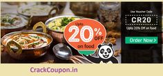 Get Upto 20% off on Ordering #FoodPanda's Top #Restaurants!,  Use #Coupon code, here: http://goo.gl/ivVULr