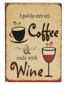"""Coffee and Wine"". Do you drink coffee in the morning ? Need to lose weight? Do you also enjoy fine wine at night? Here is a much better way to enjoy both."