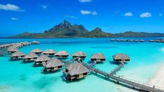 22 Pictures of the Best Overwater Bungalows Resort in Bora Bora: http://www.placesyoullsee.com/22-pictures-of-the-best-overwater-bungalows-resort-in-bora-bora/
