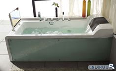 Hydromassage Bath - Cosmo. Jetted tub with tv. Ohhhh yeah.