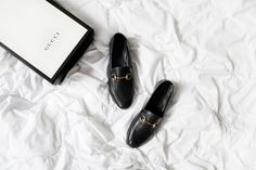 New In: Gucci Loafers.
