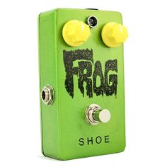 Shoe Pedals Frog Psychedelic OctaveMost analog octave-up boxes often sound terrible on anything below the 12th fret, and on many chords as well. But then again, most analog octave-up pedals aren't the Shoe Frog.The Frog is a classic sounding differential-pair octave up effect with a twist: A Gain knob controls just how much psychedelia you'd like. Roll the Gain knob all the way back for a clean octave-up sound that plays nice with any amplifier or pedal, and turn it up for a searing…