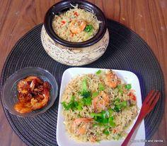 Pepper, Chilli and Vanilla: Prawn Fried Rice. http://pepperchilliandvanilla.blogspot.in/2013/10/prawn-fried-rice.html