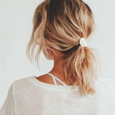 Hair Jewelry Acessories Brass Pony Tail Cover, Modern Hair Tie Cover, Metal Hair Accessory, Metal Ponytail Cover, Ponytail H - Long Face Hairstyles, Modern Hairstyles, Trending Hairstyles, Straight Hairstyles, Braided Hairstyles, Pretty Hairstyles, Japanese Hairstyles, Wedge Hairstyles, Long Haircuts
